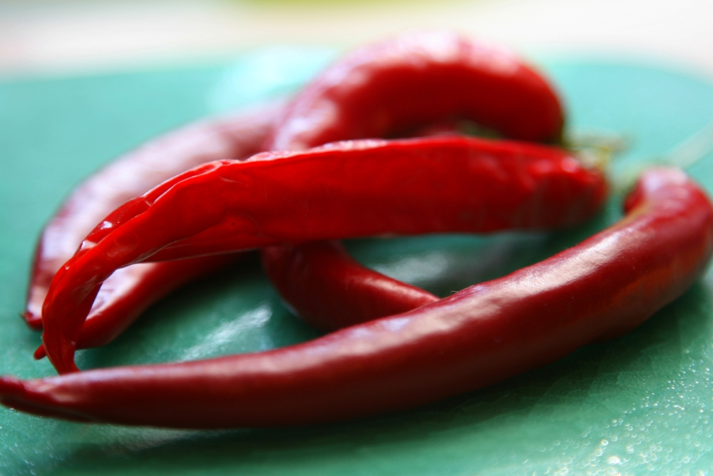 Chilies hot + cool