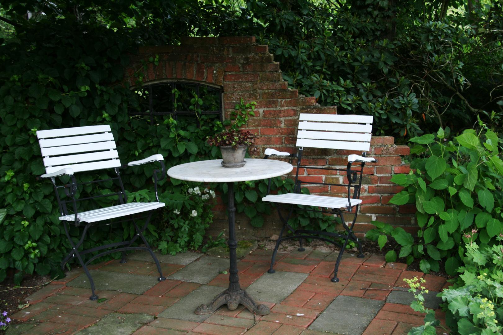 Chill-out Ecke auf Botanisch :)
