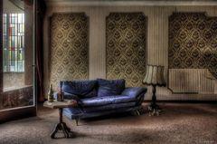 chillen im alten Hotel