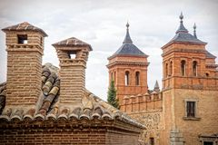 Chimneys and towers of Toledo