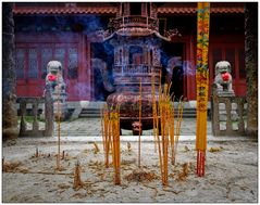 "China #9 (Taoist Temple ""Won Tai Sin"")"