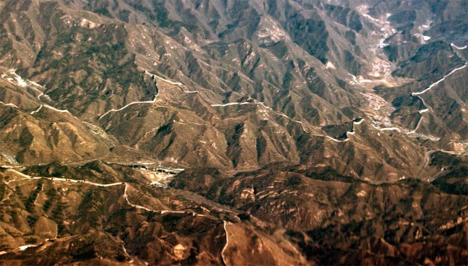 Chinesische Mauer Weltall