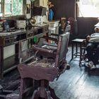 China. Friseur in Zhejiang