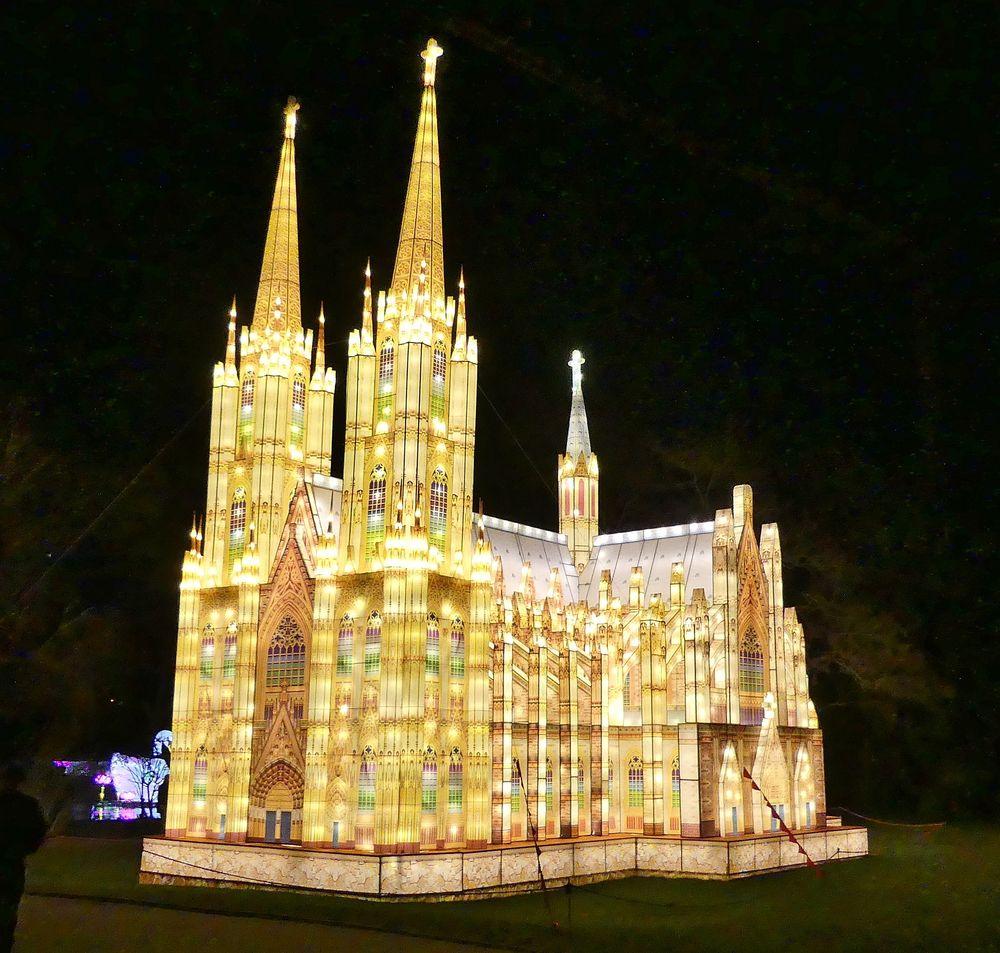Illumination Kölner Dom
