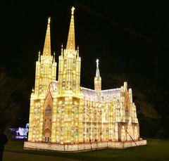 China Light 2020 - 6  -  Der Kölner Dom / 10 m hoch