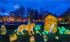 China lights im Europa Park 2