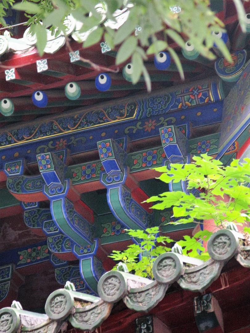 China sugerente y simbólica