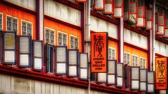 China Town in Singapur