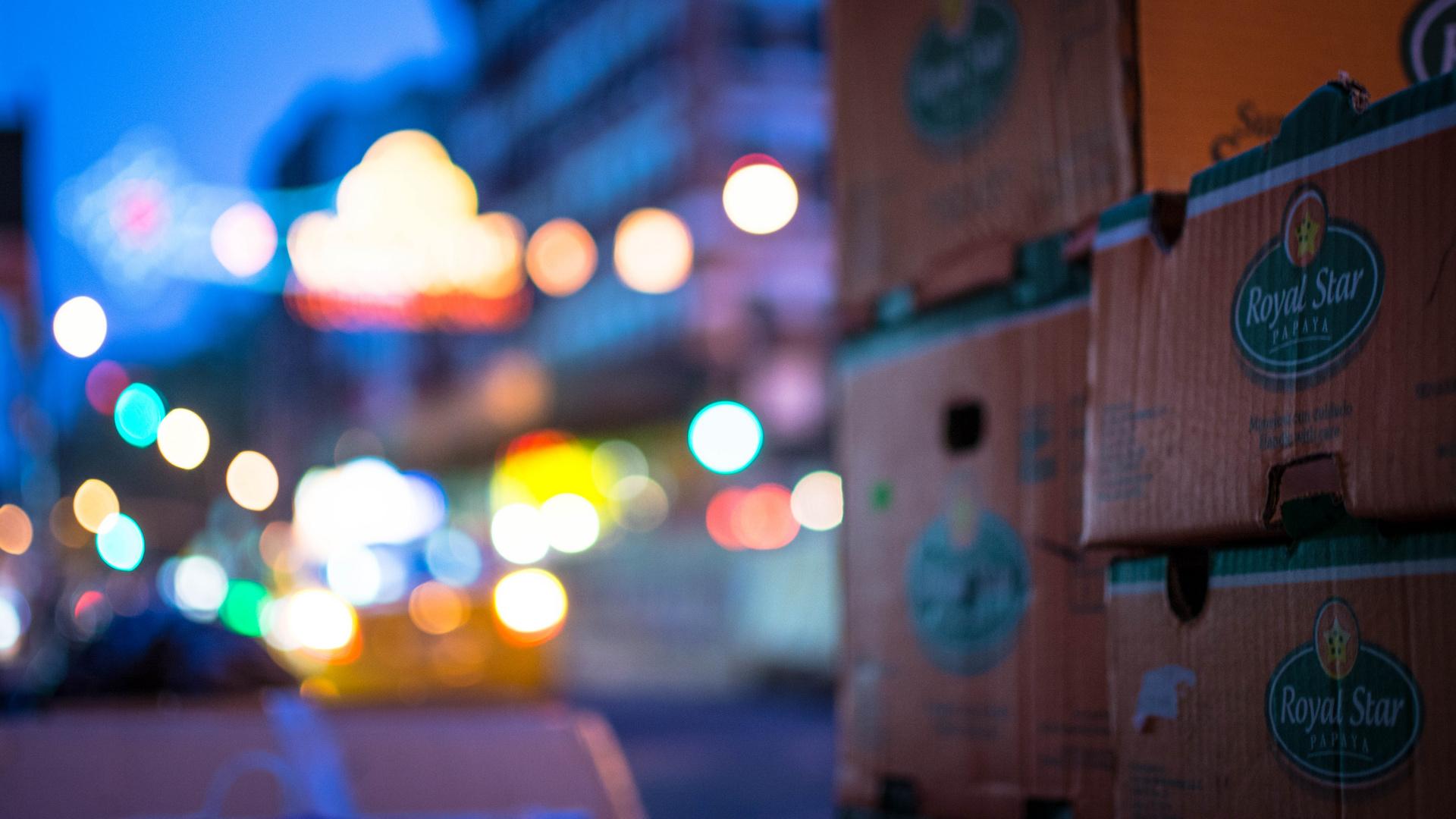 China Town Lights