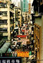Chinatown in Hongkong