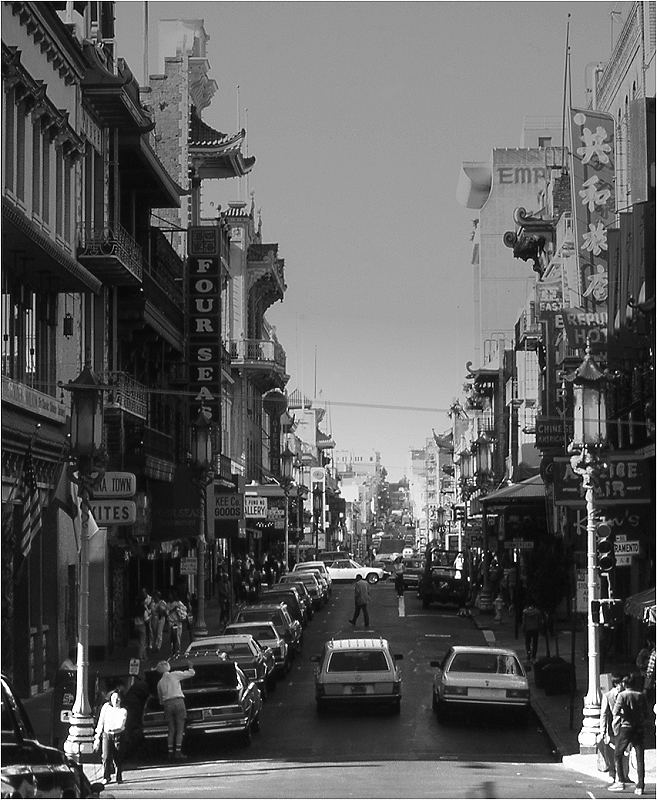 Chinatown in San Francisco