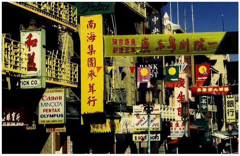 chinatown in 'San Francisco'