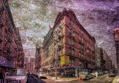 ChinaTown NY y texturas
