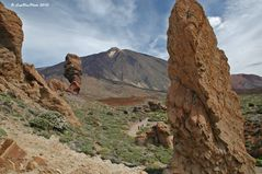 Chinchado mit Teide im Nationalpark