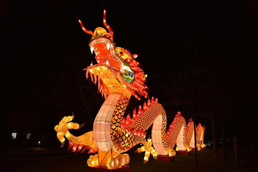Chinesische Lichter