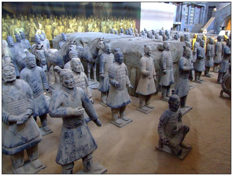 Chinesische Terra Kotta Armee