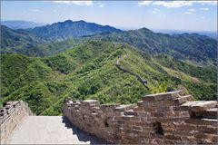 Chinesischen Mauer bei Mutianyu