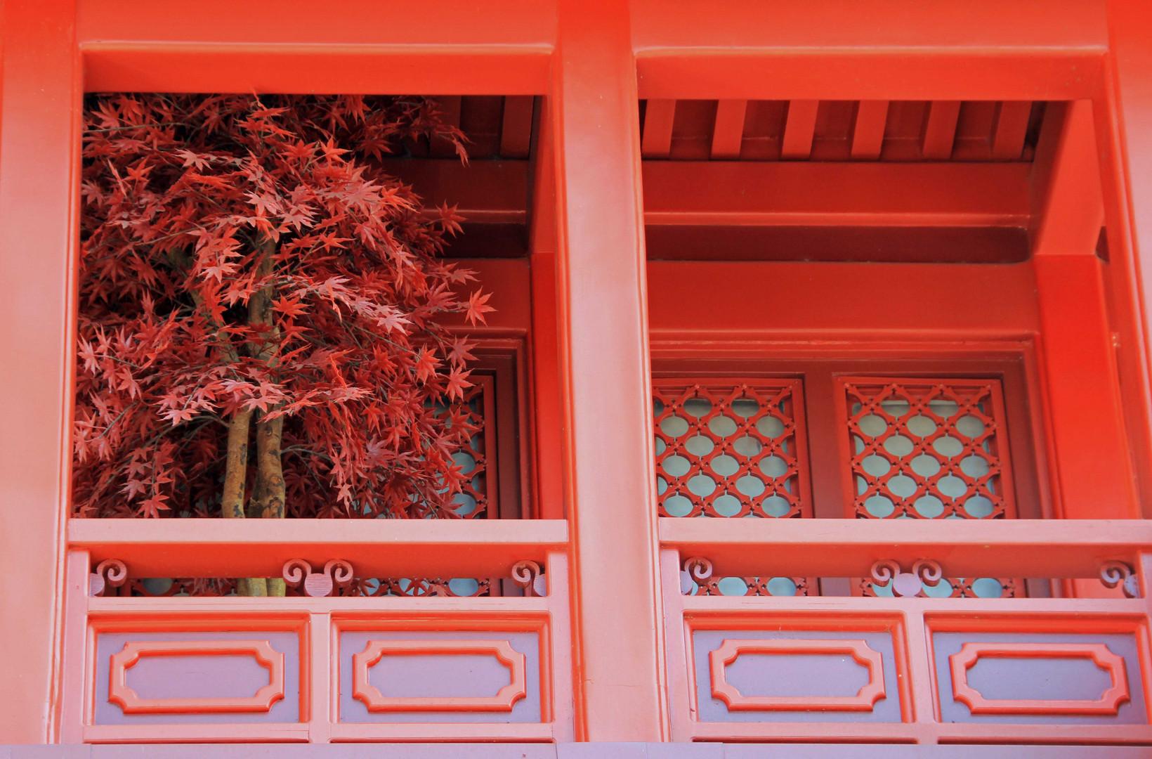 chinesischer Balkon