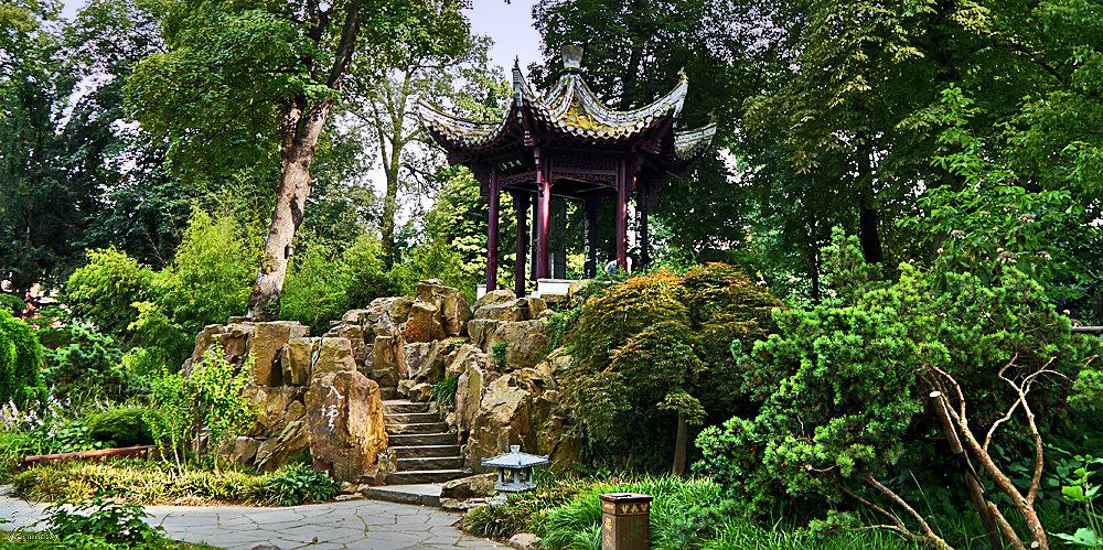 Chinesischer Garten 2 Foto Bild Landschaft Garten