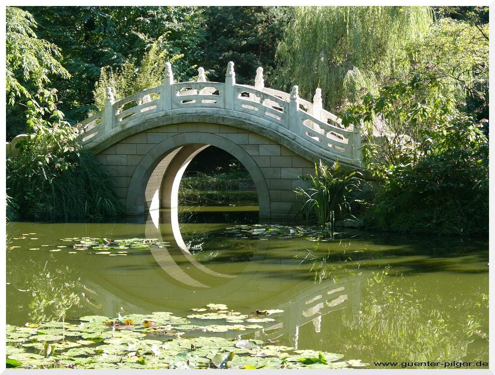 Chinesischer Garten im Duisburger Zoo
