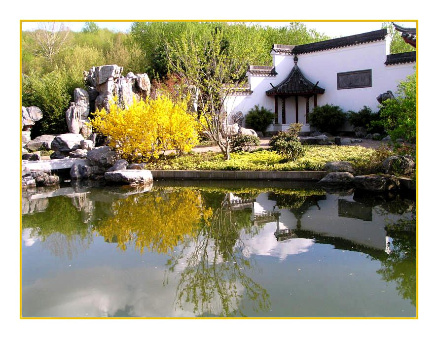 Chinesischer Garten in Marzahn/ Berlin