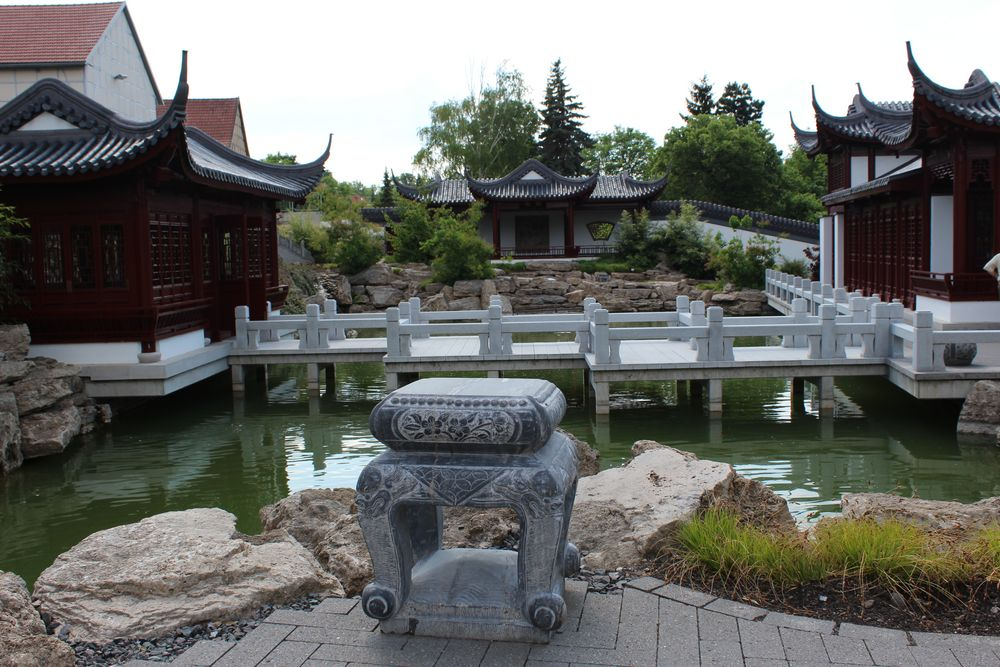 Chinesischer Garten in Weißensee