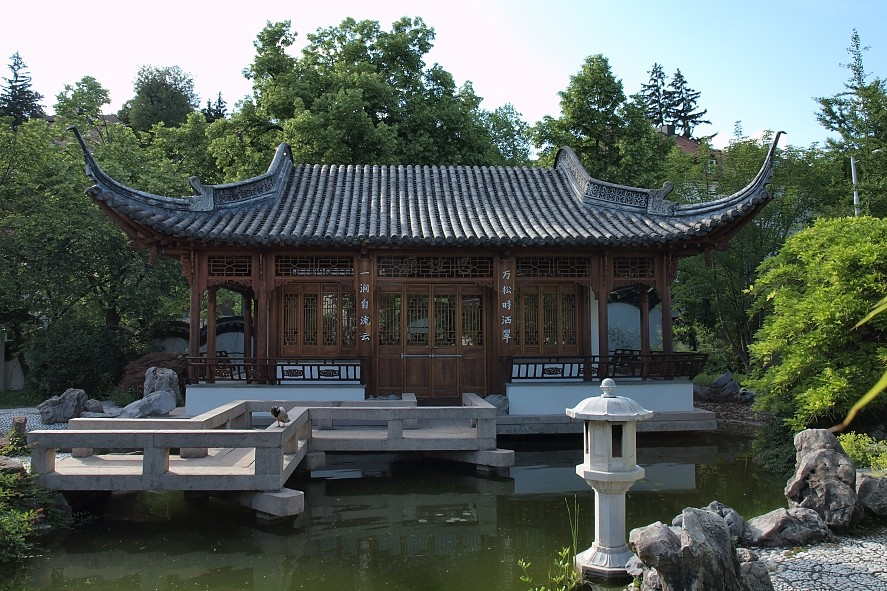 Chinesischer Garten Stuttgart Iii Foto Bild Landschaft Garten