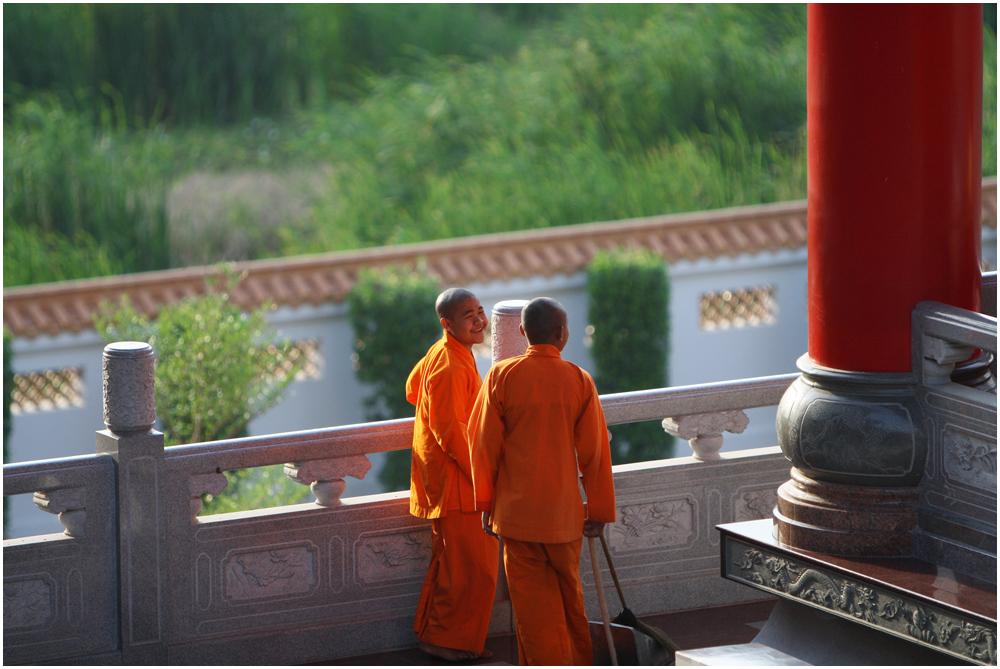 Chinesischer Tempel in Bangkok