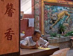 Chinesischer Tempel in Phnom Penh, Kambodscha