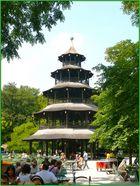 Chinesischer Turm im Englischen Garten