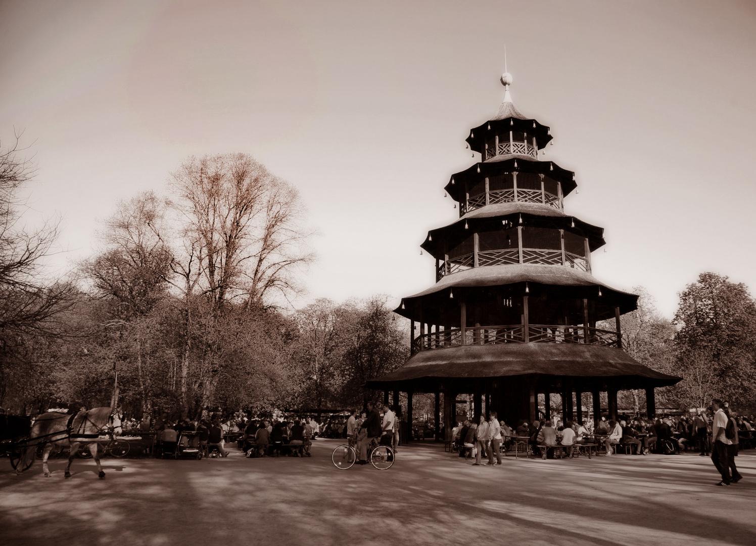 Chinesischer Turm in München