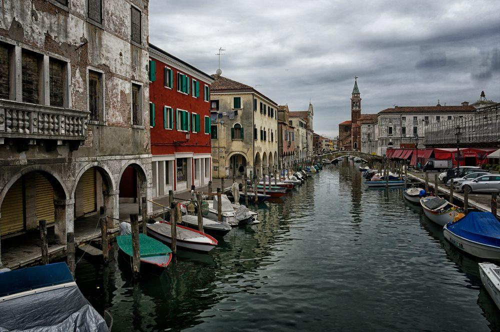 Chioggia - auch klein Venedig genannt  -