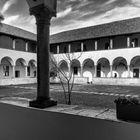 Chiostro dell'abbazia di Mirasole