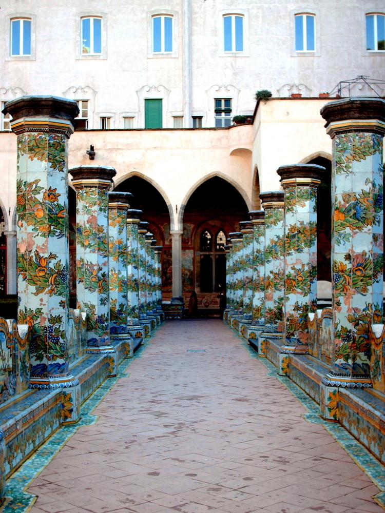 """Chiostro di """"Santa Chiara"""" - Napoli"""