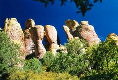 Chiricahua- Nationalpark- Wunderland der Felsen
