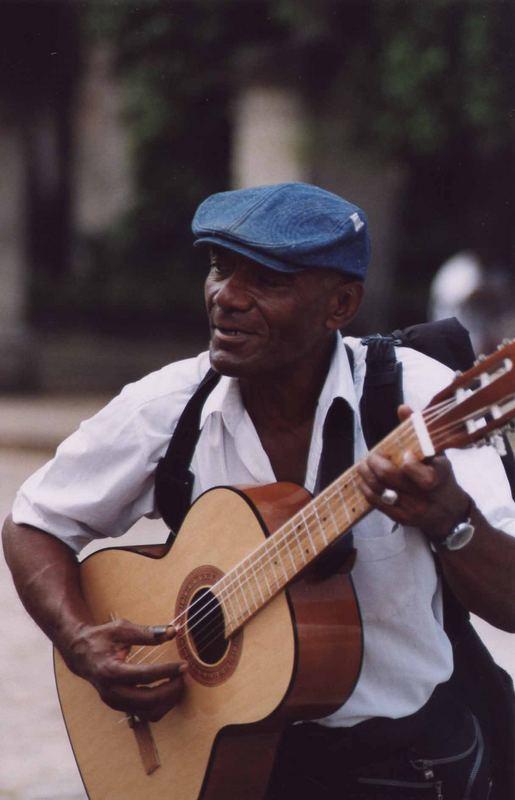 Chitarrista cubano