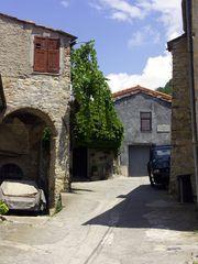 Chiusannico Juli 2005 - ein Ort im Wandel