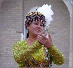 Chiva - Allakulichan-Medrese - Sängerin