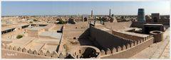 Chiva - Blick von der Stadtmauer auf die Altstadt
