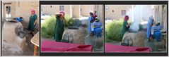 Chiva - Frauen beim Brot backen