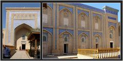 Chiva - Mausoleum Pakhlavan Mahmud - Eingang
