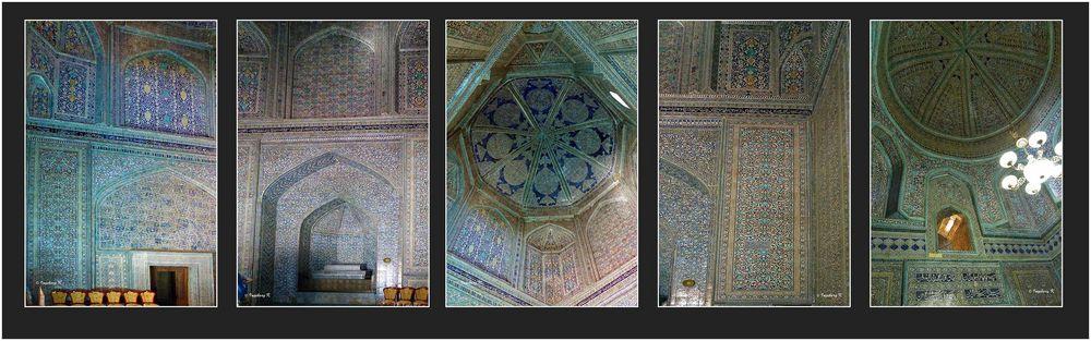 Chiva - Mausoleum Pakhlavan Mahmud - Innenansicht