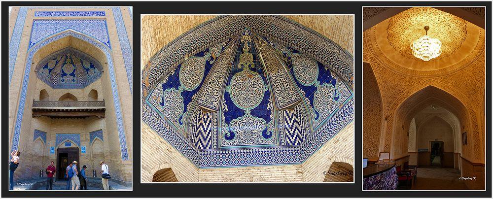 Chiva - Muhammad Amin Chan Medrese - Eingangsportal - Eingang innen