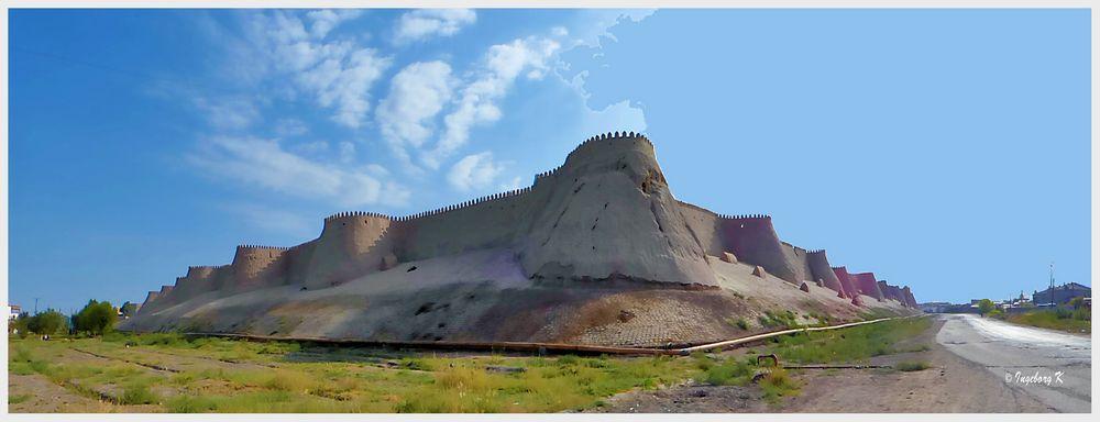 Chiva - Stadtmauer