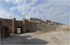 Chiva - Stadtmauer - Stadttor Pawlan Darwase - östliche Stadttor