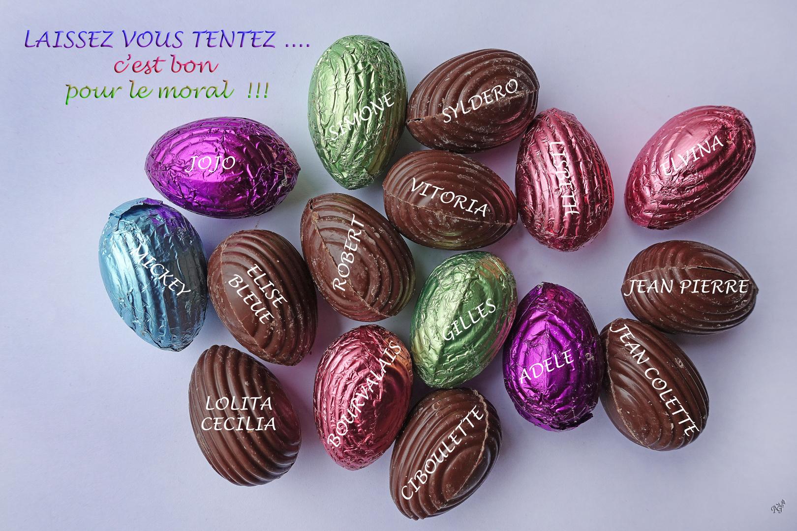 Cho ..... chocolats .....