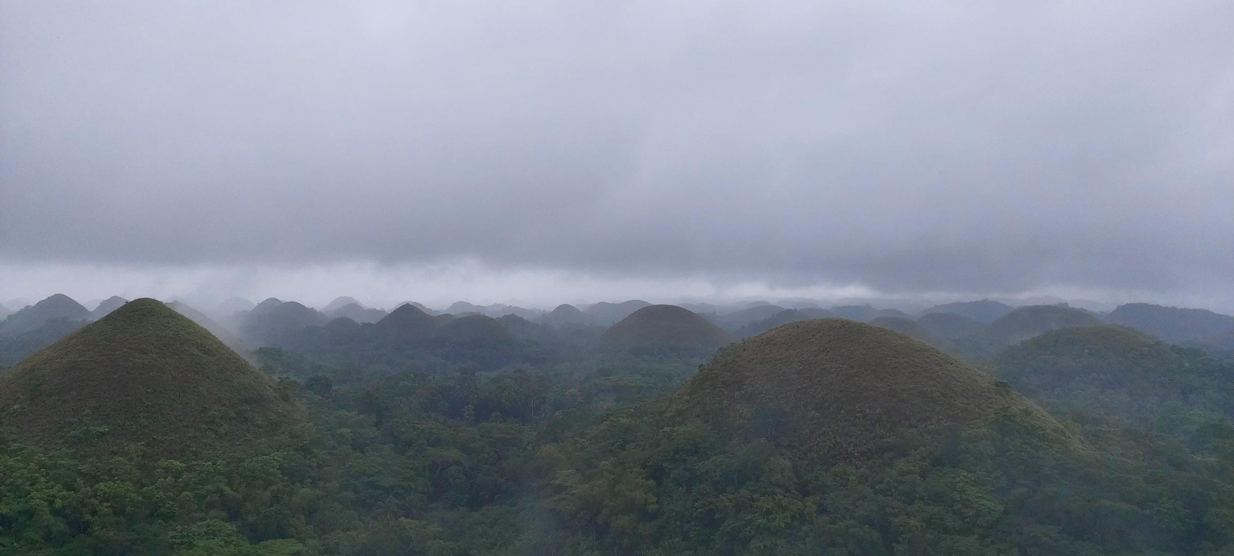 Chocolate Hills Philippinen