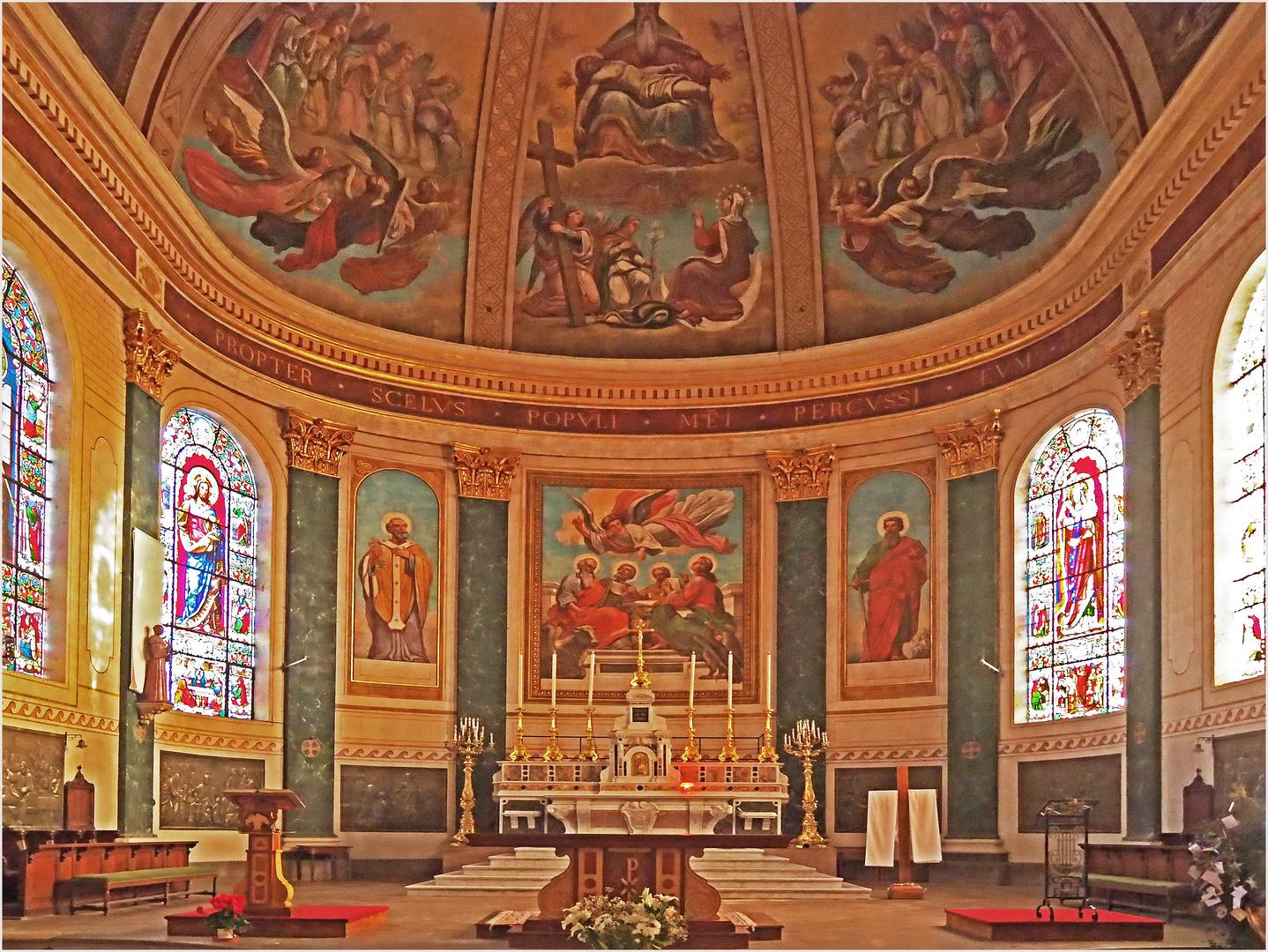 Choeur de l'Eglise Saint-Nicolas de Nérac