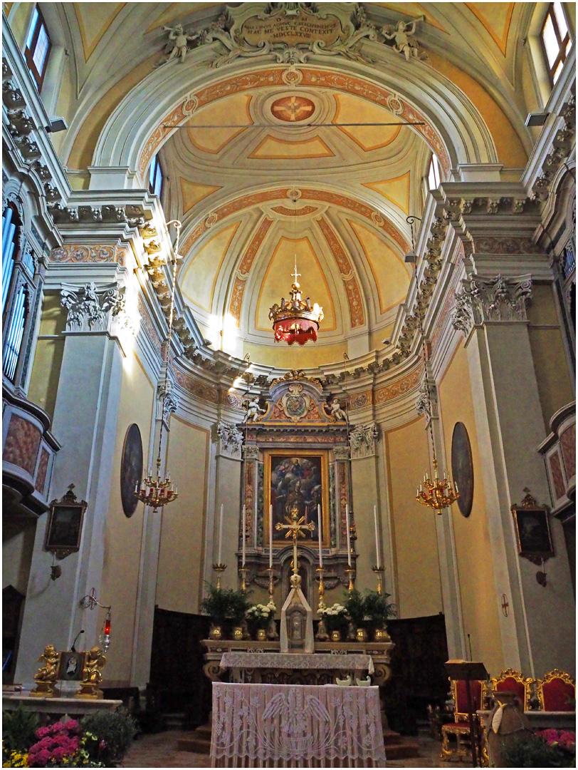 Choeur de l'Eglise San Martino Vescovo  --  Moniga del Garda