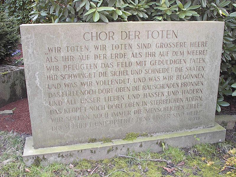 Chor der Toten